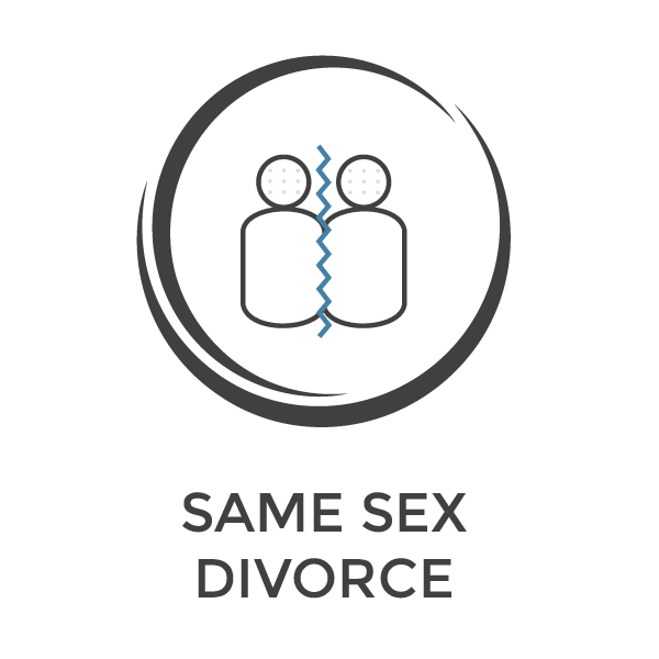 same sex divorce